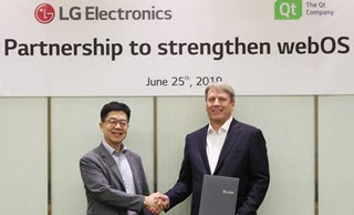 LG to expand partnership with Qt on next generation embedded devices running webOS
