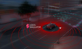 LG and Unity collaborate on autonomous vehicle simulation