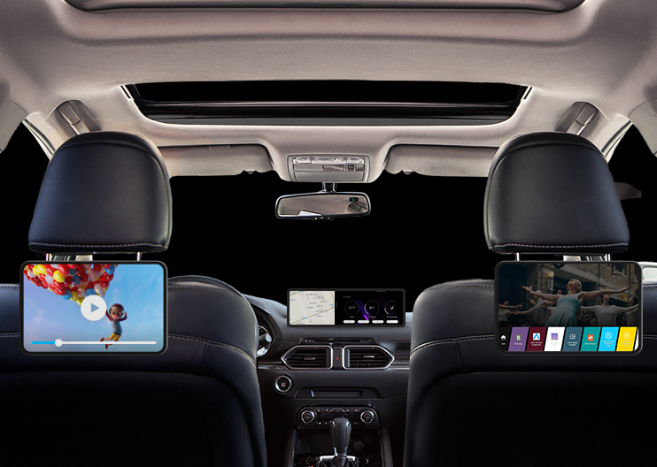 Full In-Vehicle Infotainment with Branded Appstore
