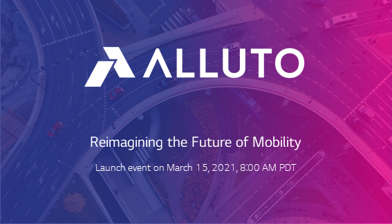 Alluto launch event on March 15, 2021, 8AM PDT