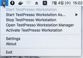TestPresso Installation for MacOS step2