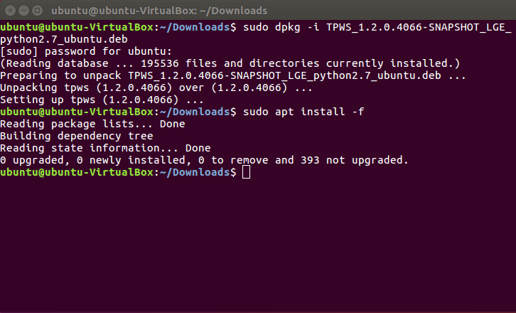 To install TestPresso on Linux, follow the next steps. step2