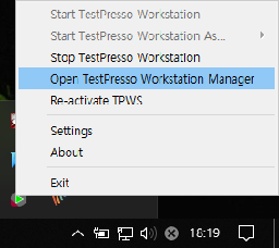 TestPresso Workstation Manager
