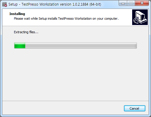 TestPresso Installation for Windows step8